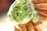 白菜の浅漬けの作り方1