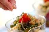 奴とトマトの薬味サラダの作り方3