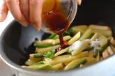 ジャガイモのオイスター炒めの作り方2