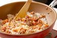 カキの炊き込みご飯の作り方1
