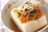 豆腐のピリ辛ダレ