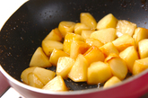アップルソテーバニラの作り方2