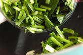 イカと小松菜の炒め物の作り方1