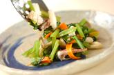 イカと小松菜の炒め物の作り方3