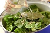 ソーセージと春キャベツの煮物の作り方1