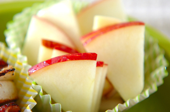 リンゴとハチミツレモン