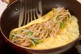 野菜のうす焼き卵巻きの作り方2