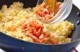 鮭チャーハンの作り方3