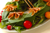 リボンリースサラダの作り方3