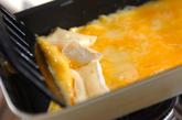 チーズの卵焼きの作り方2