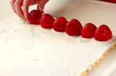 イチゴのロールケーキの作り方14