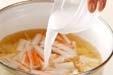 ふんわりかきたま汁の作り方2