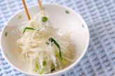 大根と細ネギのサラダの作り方1