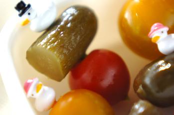 ピクルス&トマト