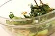 チンゲンサイのお浸しの作り方1