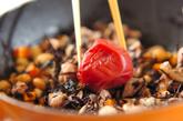 大豆とヒジキの梅煮の作り方2