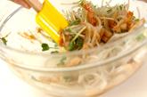 モヤシとちくわのゴマ酢和えの作り方2