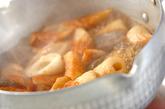 ちくわとコンニャクの煮物の作り方2