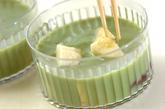 抹茶バナナミルクカンの作り方3