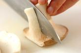 カキのオイスター炒め丼の下準備2