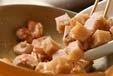 鶏コンの甘煮の作り方1