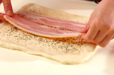 ベーコン&ペッパー食パンの作り方6