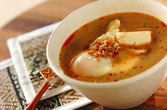 麻婆風スープ