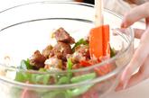 豚肉のオーロラソース和えの作り方2