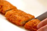 白身魚フライのチリソース煮の作り方1