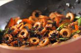 ヒジキとちくわの炒め煮の作り方2
