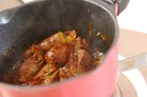 レバーの焼き肉ダレ煮の作り方3