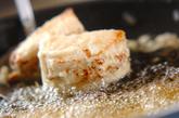タケノコのエビはさみ揚げの作り方2
