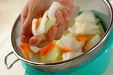冬瓜のサッパリサラダの作り方2