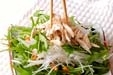 鶏ささ身の和風サラダの作り方1