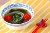ワカメのスープ