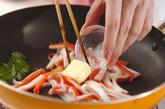 カニカマ丼の作り方4