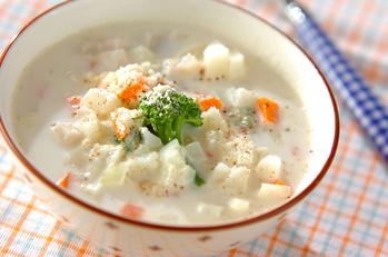 長芋のミルクスープ