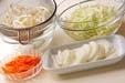 モヤシの甘酢和えの下準備2
