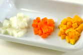 野菜のおじやの作り方1