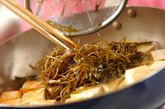 豆腐と昆布の炒め物の作り方1