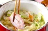鶏肉とキャベツのスープ煮の作り方2