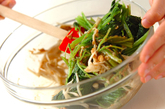 青菜のゴマ和えの作り方3