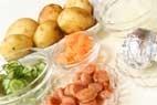 ゆで卵とポテトのサラダの作り方1