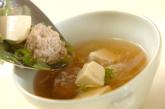チキン団子スープの作り方2