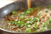 糸コンとピーマンの炒め煮の作り方3