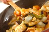 エビのチリソース煮の作り方3