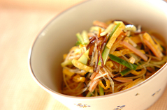 春雨のピリ辛中華風サラダ