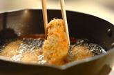 チーズ入りロールトンカツの作り方2