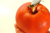 フレッシュトマトのスープの下準備1