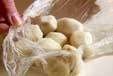 里芋のゴマ煮の下準備3